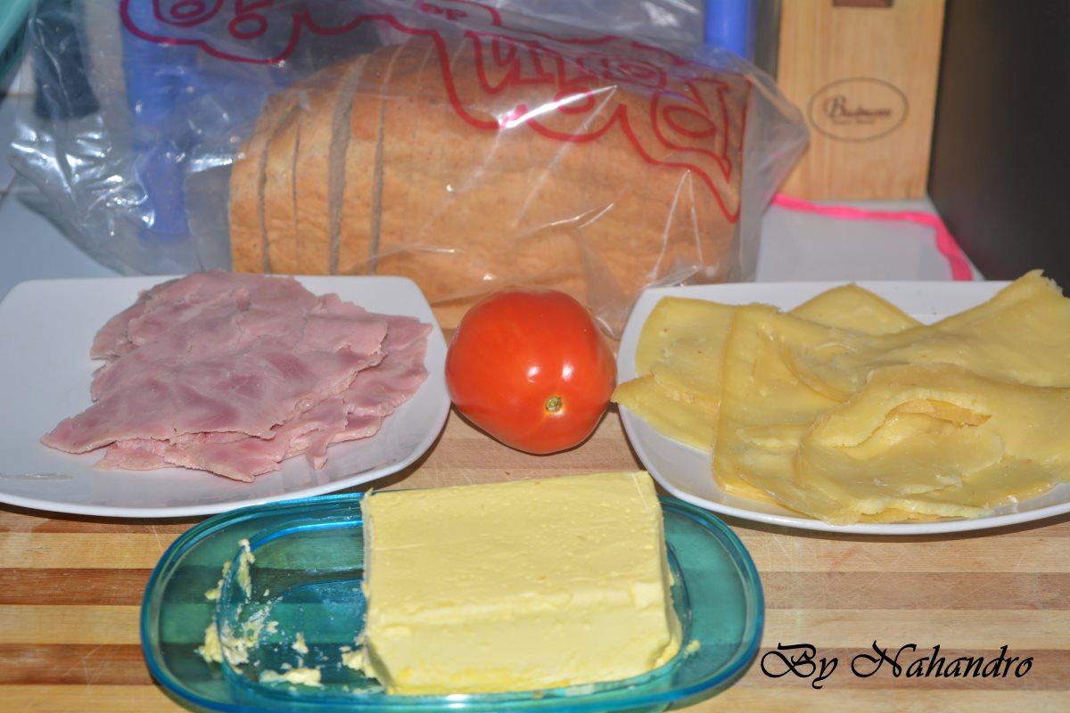 Croque-monsieur facile ingrédients