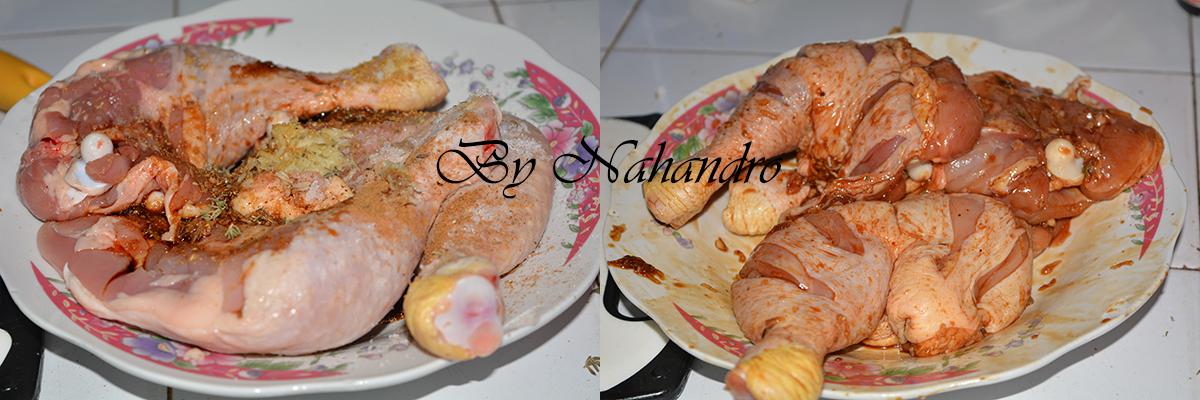 Gansettes au poulet 1