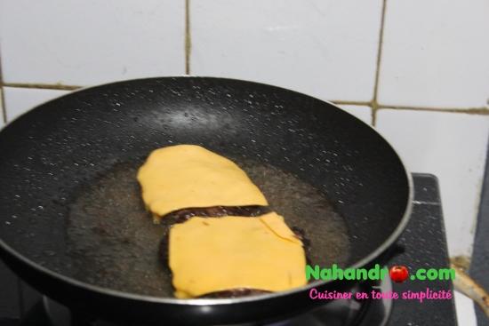 Recette facile de cheeseburger 3