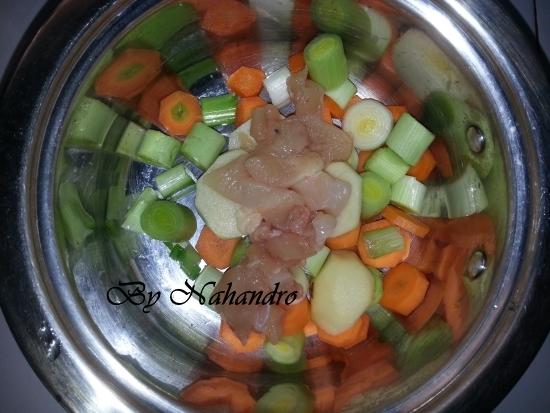 Recette facile de purée de poireaux 1