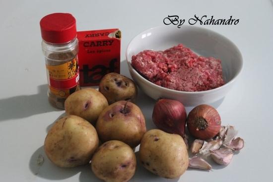 Recette simple de Kimo ingrédients