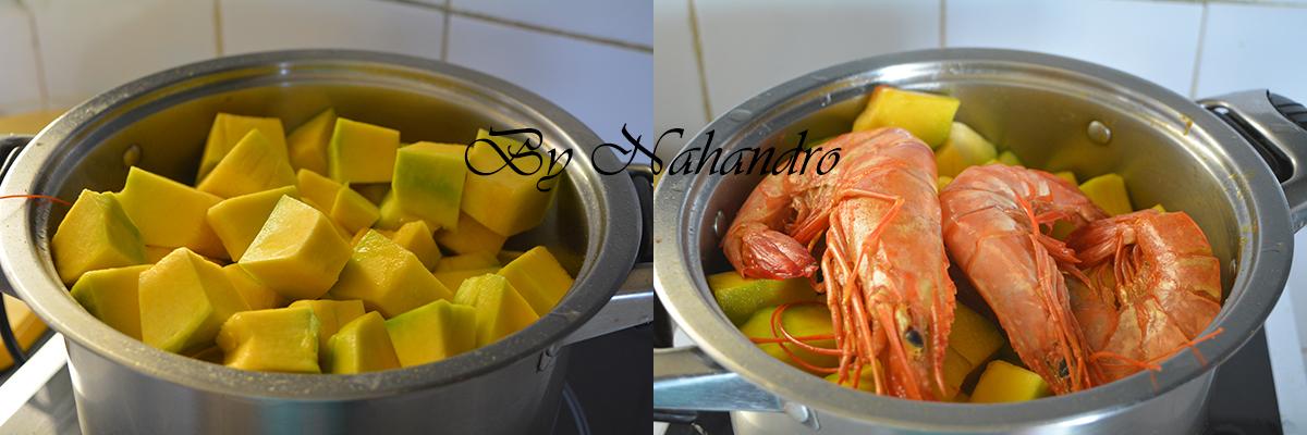 crevettes sechees au potiron 3