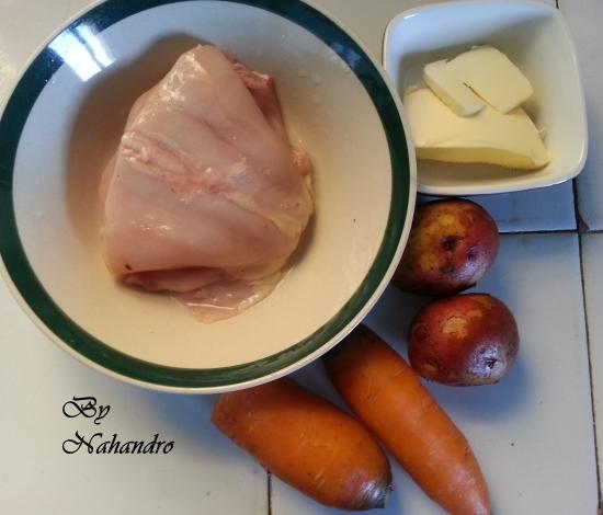 ingrédients purée de carottes bébé