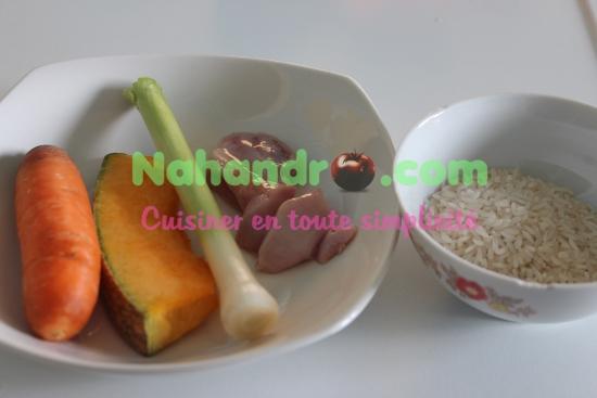 purée de légumes au riz 1