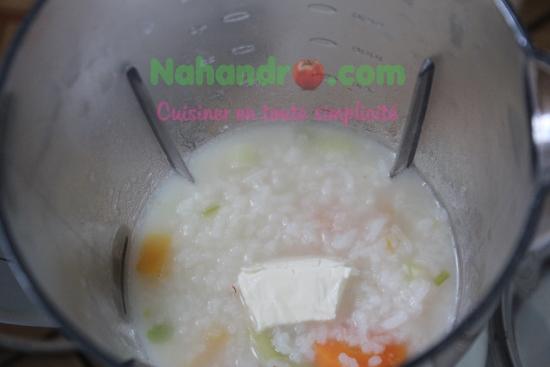 purée de légumes au riz 3