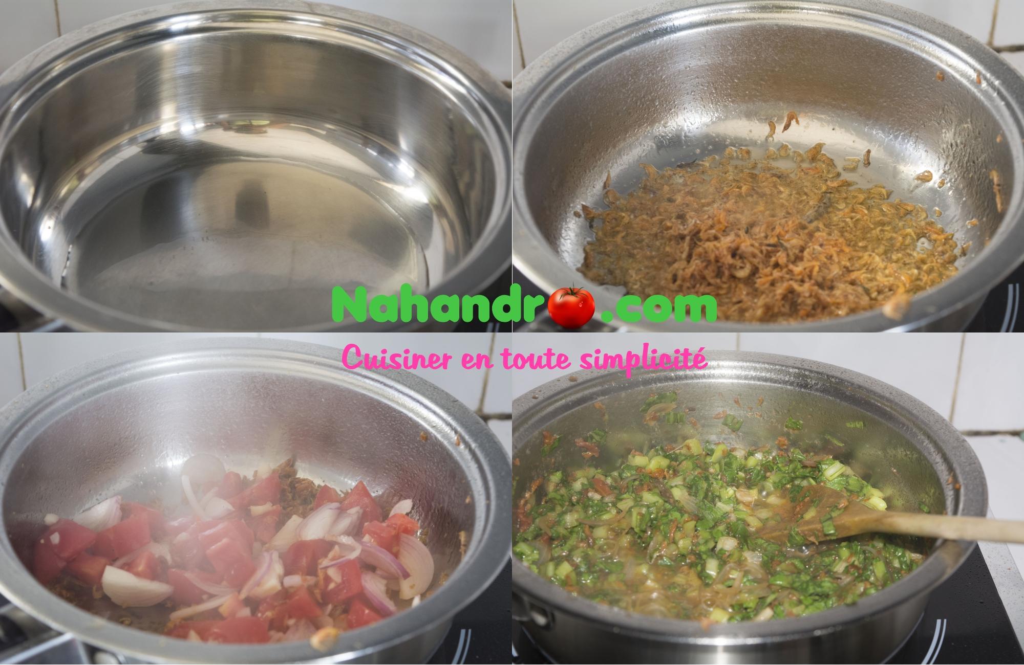 riz aux brèdes etape3