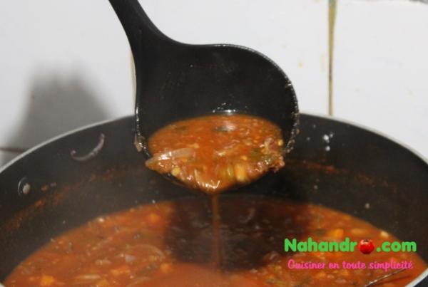 spaghettis à la bolognaise 5