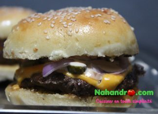 Recette facile de cheeseburger