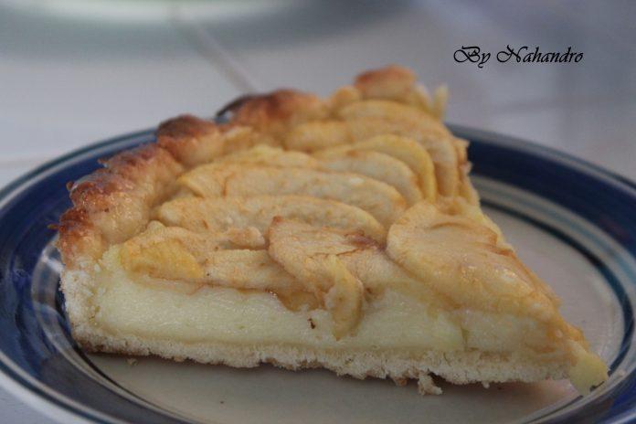 Recette facile de tarte aux pommes main