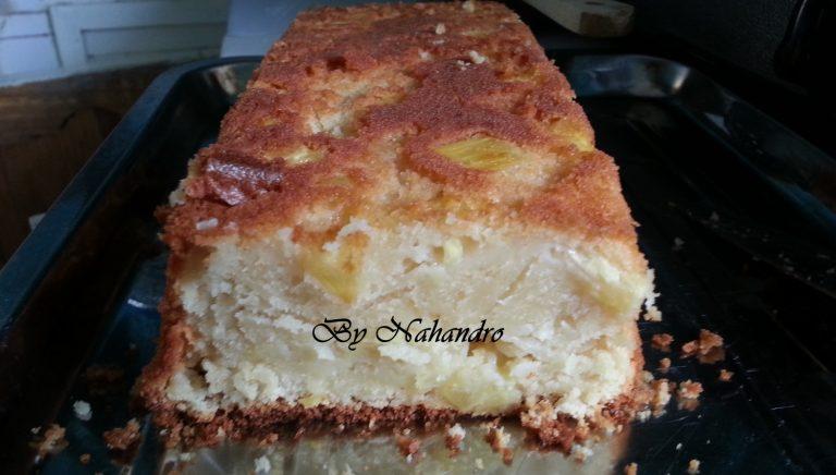 Cake à l'ananas moelleux facile
