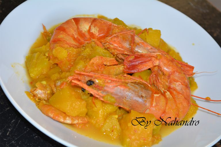 Crevettes séchées au potiron