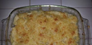 gratin de pommes de terre main