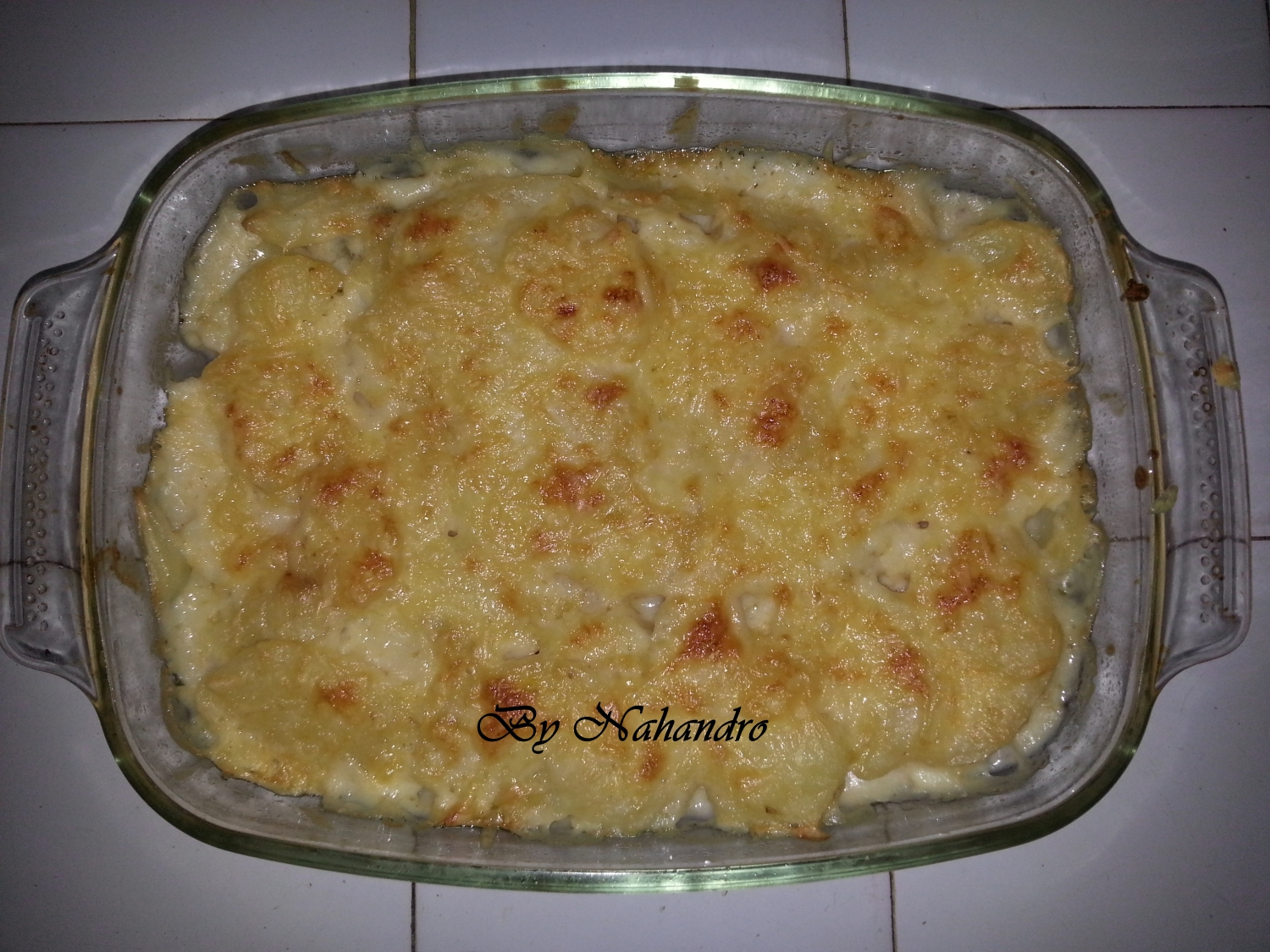 recette facile de gratin de pommes de terre aux sardines. Black Bedroom Furniture Sets. Home Design Ideas