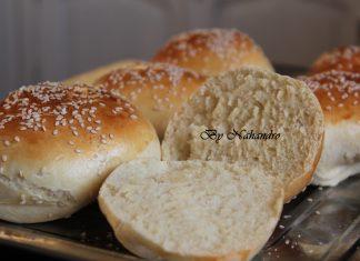 pains à hamburger