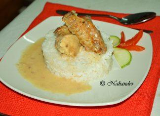 poulet à la sauce suprême