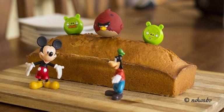 Recette très facile d'un cake en vidéo