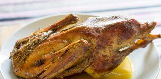 Recette de canard rôti